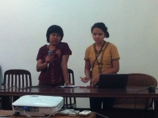 Yangon Journalist talking about discrimination against women in Myanmar