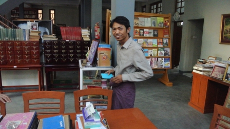 Librarian at Ludu Library